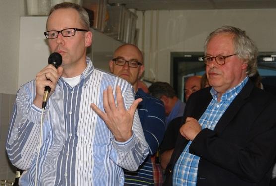 P1 Ron Langeveld schaker van 2012 en Hans Ree