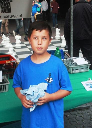Brandon Lieuw won een oploswedstrijd