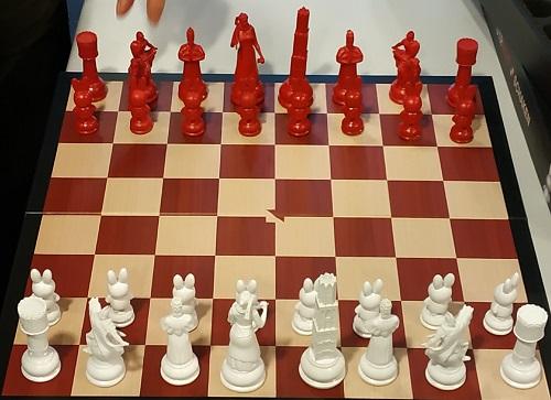 Utrecht schaakspel
